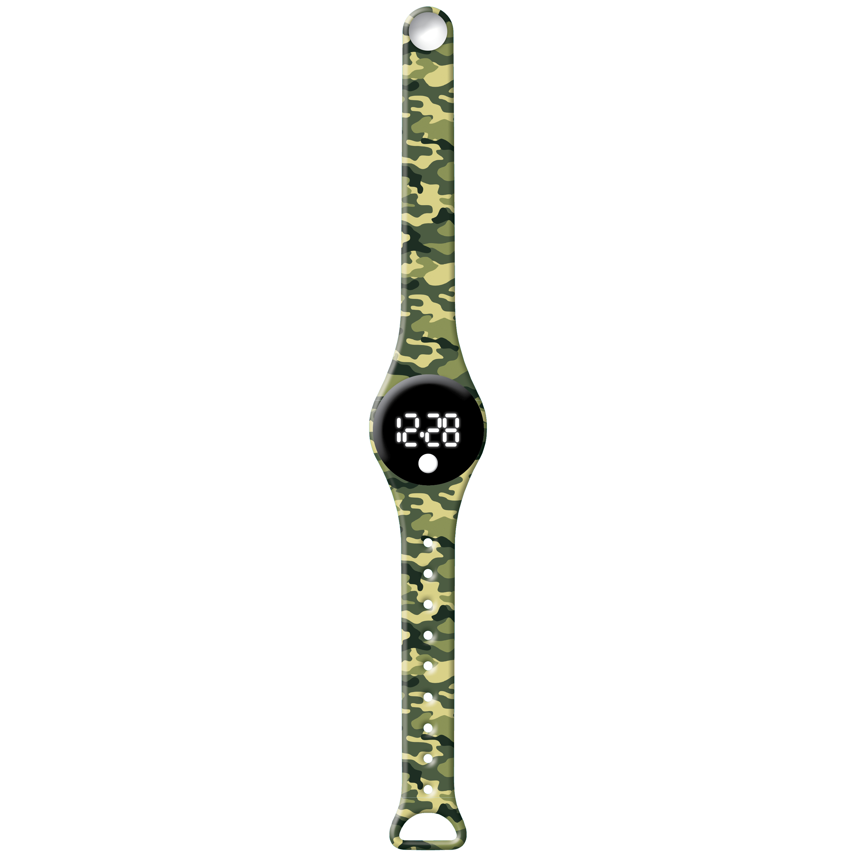 Army Camo - Watchitude Blip - Digital Watch image number 1