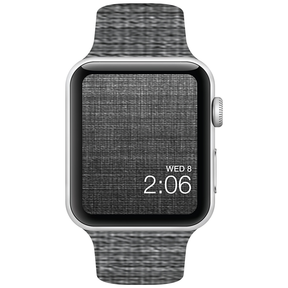 Black Canvas - 42mm - Apple Watch Band - Fits Apple Watch