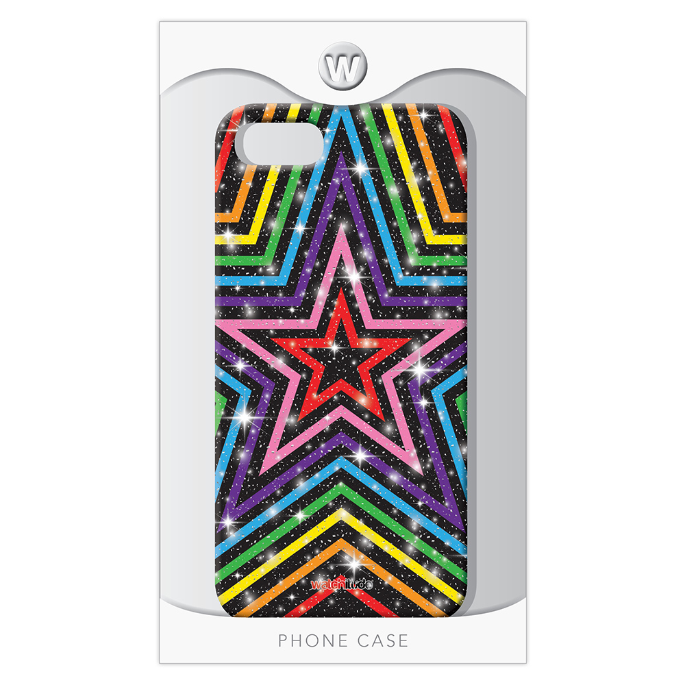 Rainbow Stars 7/8 - Watchitude Phone Case - Fits iPhone 7/8