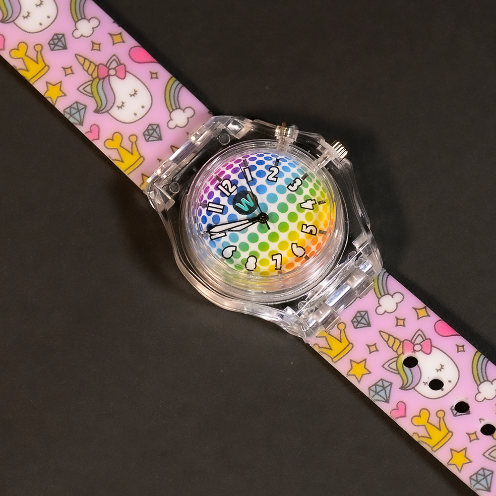 Princess Unicorn - Watchitude Glow - Led Light-up Watch image number 0