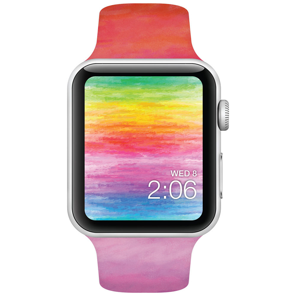 Watercolors - 42mm - Apple Watch Band - Fits Apple Watch