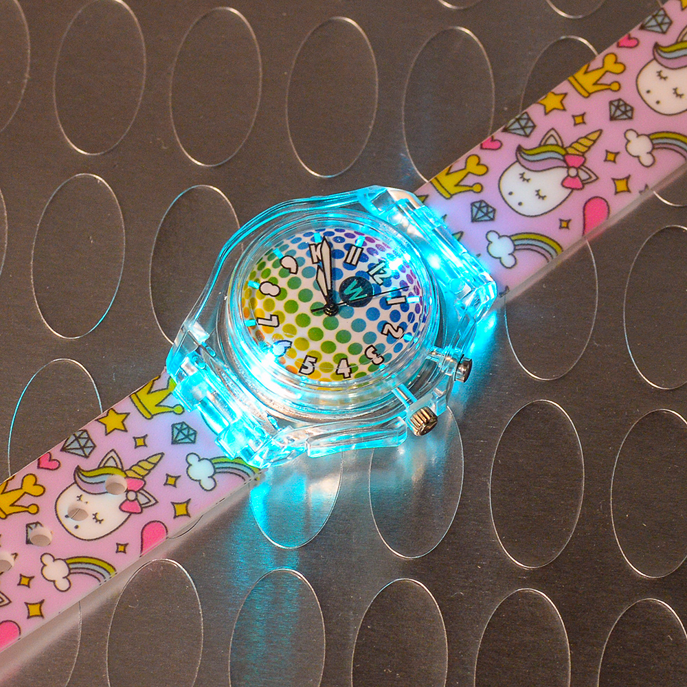 Princess Unicorn - Watchitude Glow - Led Light-up Watch image number 3