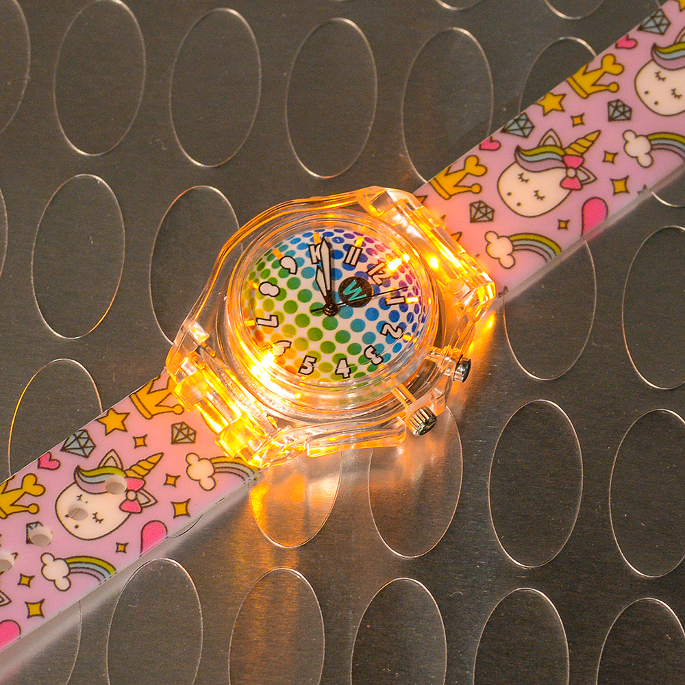 Princess Unicorn - Watchitude Glow - Led Light-up Watch image number 5