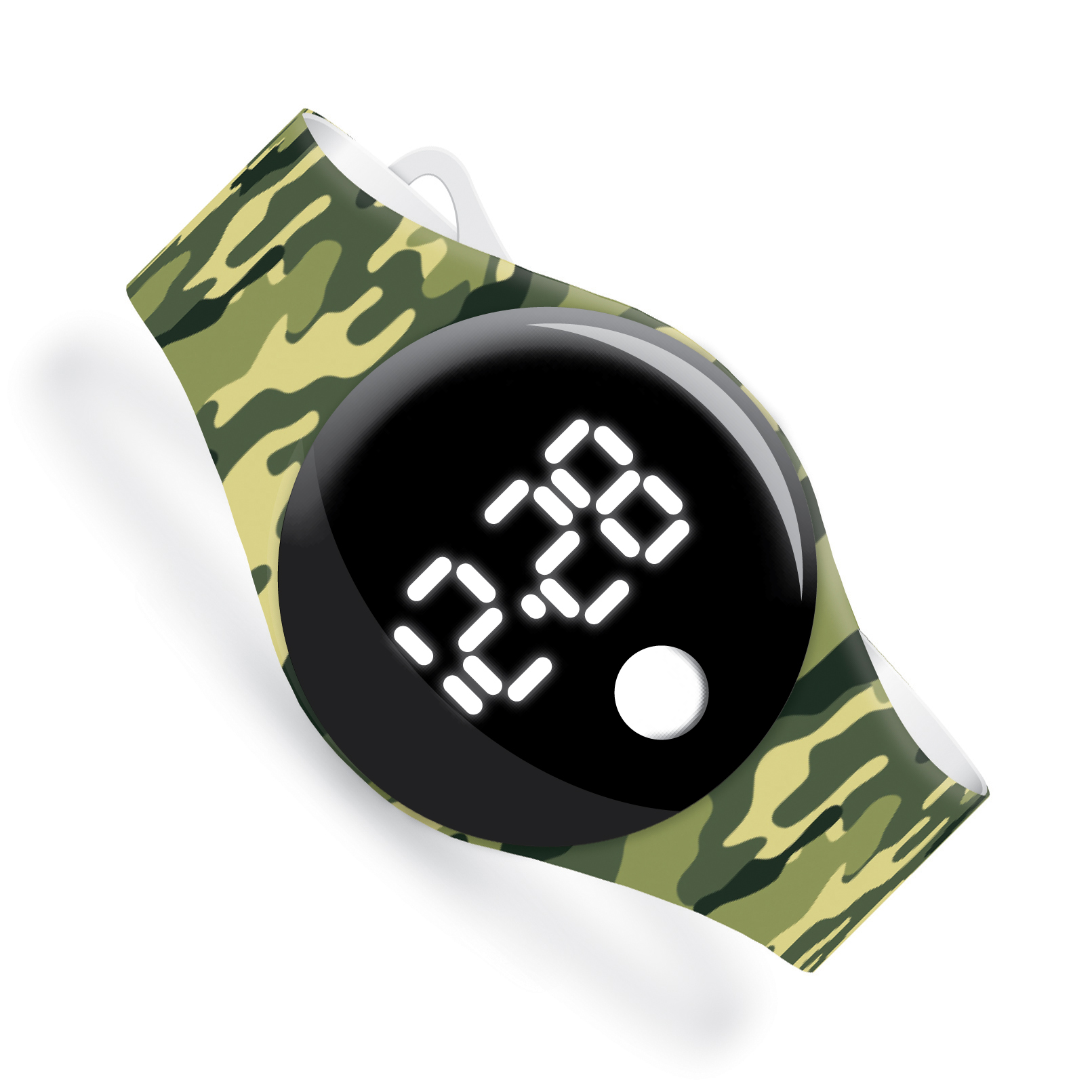 Army Camo - Watchitude Blip - Digital Watch image number 0