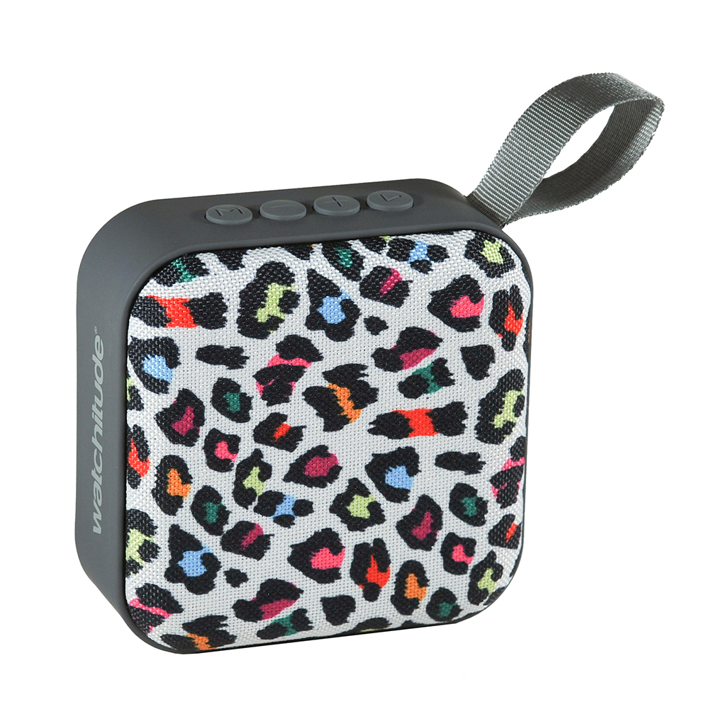 Leopard Camo - Watchitude Jamm'd - Wireless Speaker