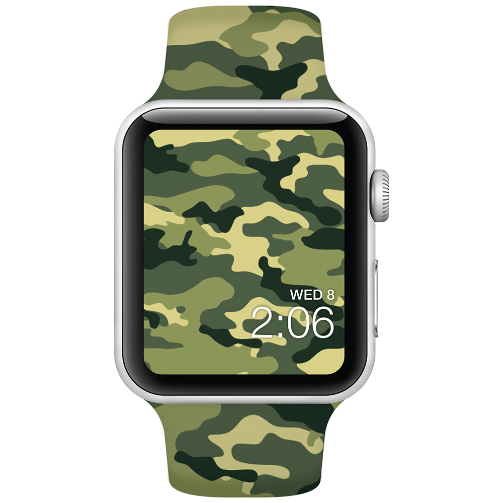 Army Camo - 42mm - Apple Watch Band - Fits Apple Watch