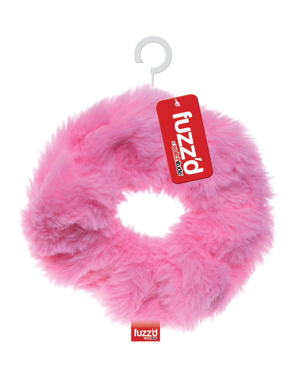 Pink Lip Gloss - Hair Tie - Fuzz'd x Watchitude