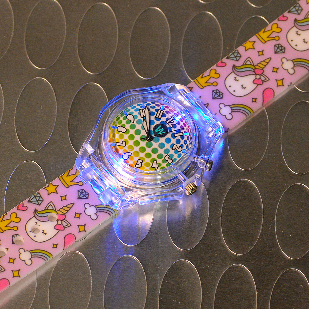 Princess Unicorn - Watchitude Glow - Led Light-up Watch image number 6