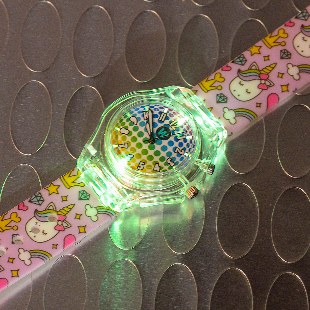 Princess Unicorn - Watchitude Glow - Led Light-up Watch image number 2