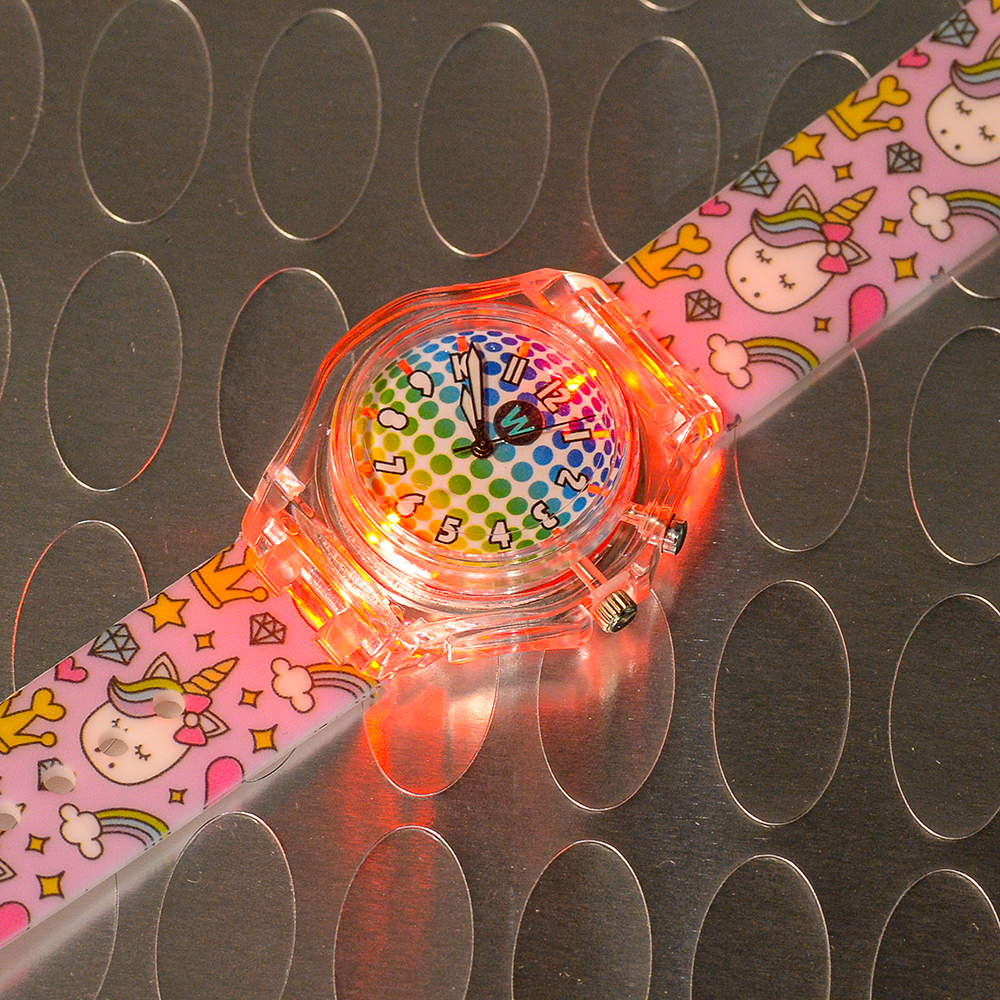 Princess Unicorn - Watchitude Glow - Led Light-up Watch image number 4