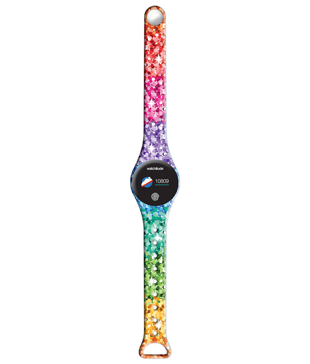 Sassy Sequins - Watchitude Move2 - Kids Activity Plunge Proof Watch image number 2