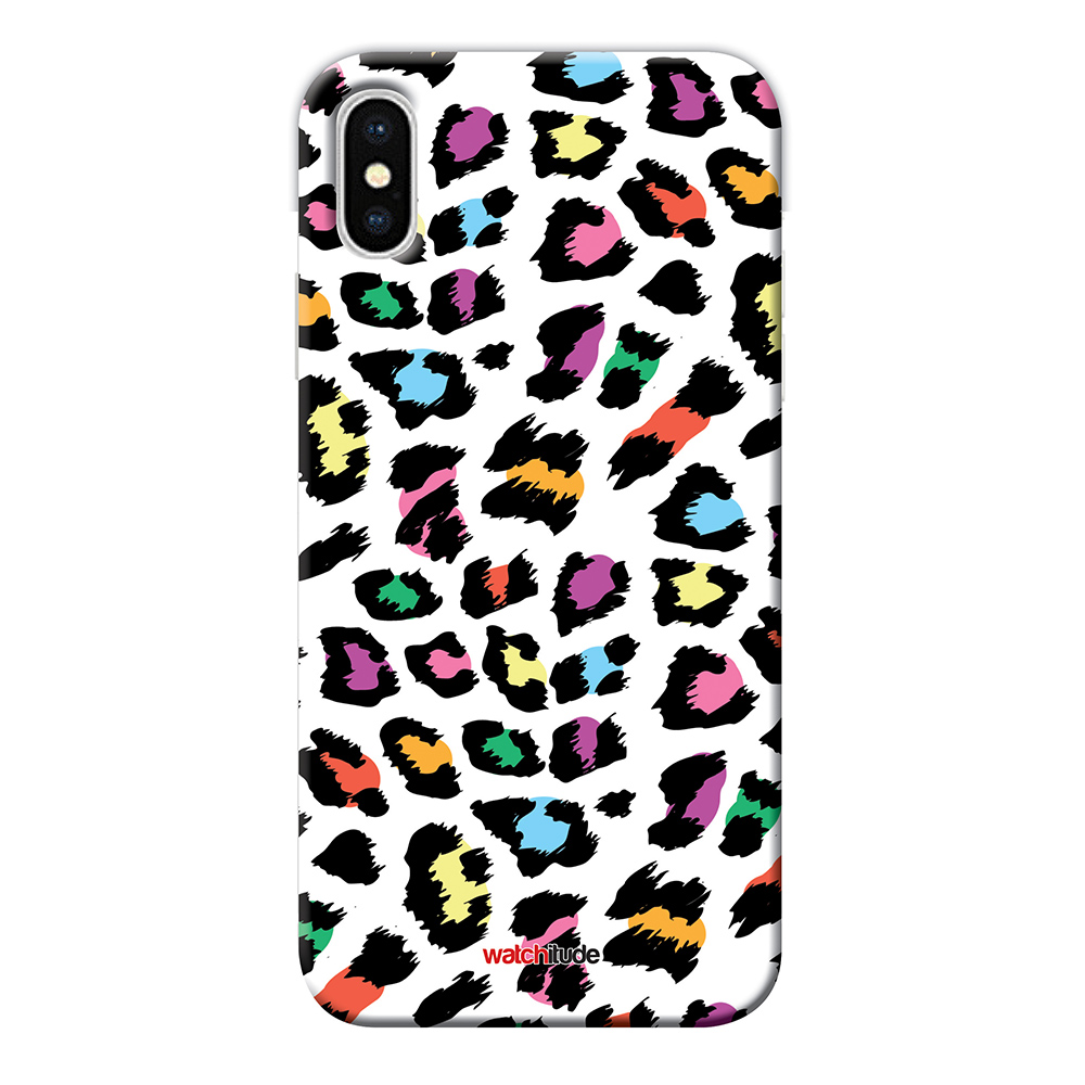 Leopard Camo X/XS - Watchitude Phone Case - Fits iPhone X/XS