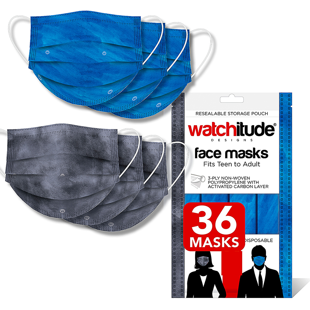 Ocean & Slate - Watchitude Face Masks (36-pack)