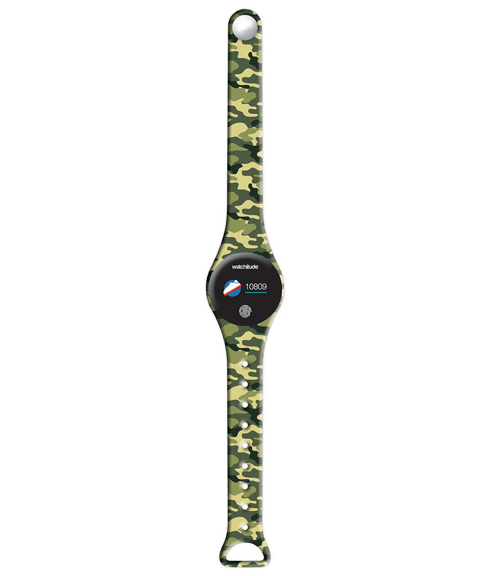Army Camo - Watchitude Move 2 | Blip Watch Band (Band Only)