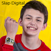 Digital Slap Watches